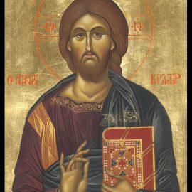 """Icoana Iisus Hristos """"Pantocrator"""" – mila și pacea pe același chip"""